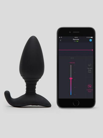 Lovense Hush App Controlled Vibrating Butt Plug 4 Inch