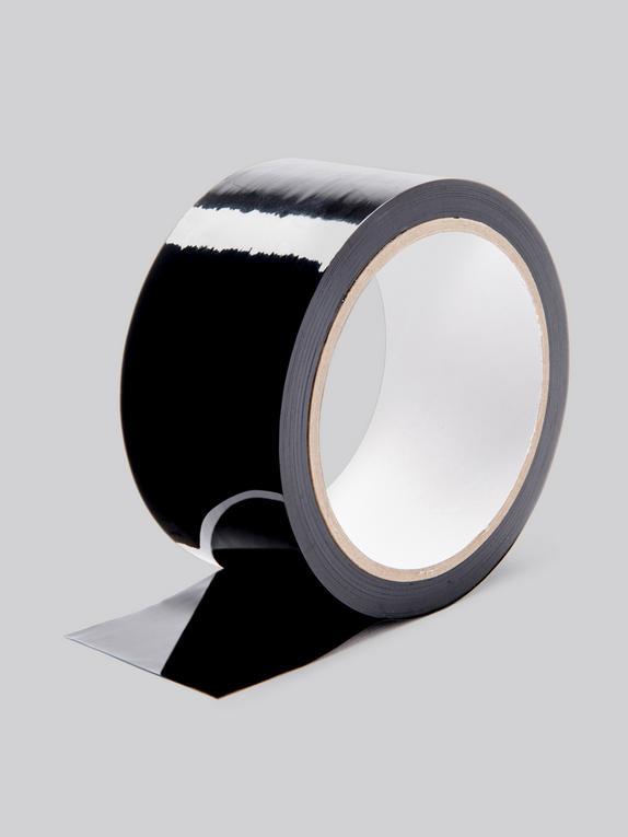 Lovehoney Black Bondage Tape, Black, hi-res