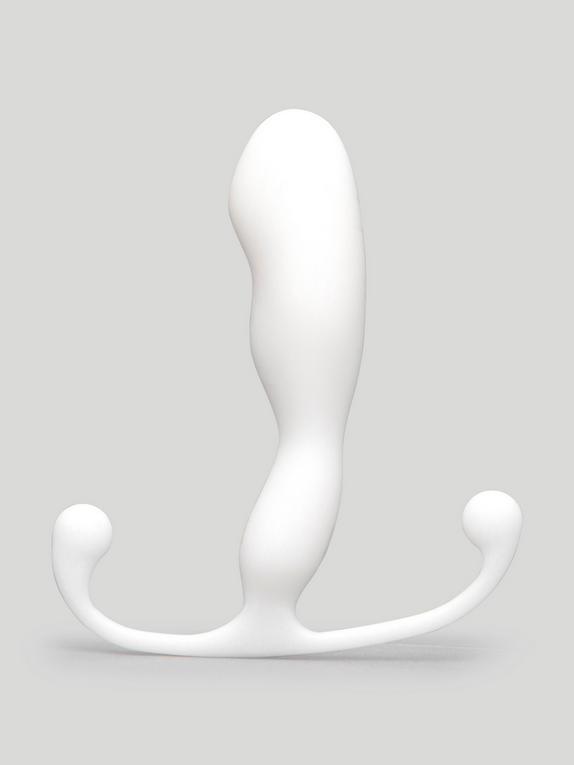 Masajeador Prostático Trident Helix de Aneros, Blanco, hi-res