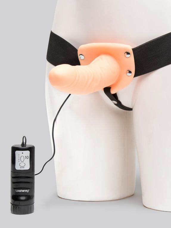 Arnés con Vibrador 15cm Perfect Partner Lovehoney, Natural (rosa), hi-res