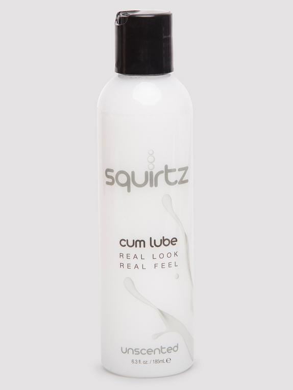 Squirtz Unscented Cum-Style Water-Based Lubricant 6.3 fl oz, , hi-res