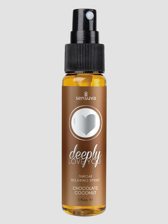 Sensuva Love You Deeply Throat Relaxing Spray Chocolate Coconut 30ml, , hi-res