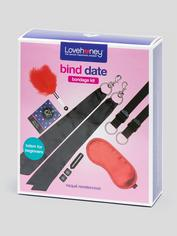 Lovehoney Bind Date Bondage Kit (8 Piece), Black, hi-res