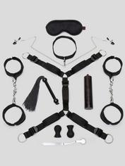 Méga kit de bondage Kinky Couple (10 pièces), Lovehoney, Noir, hi-res