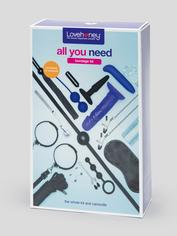 Lovehoney All You Need Bondage Kit (20 Piece), Black, hi-res