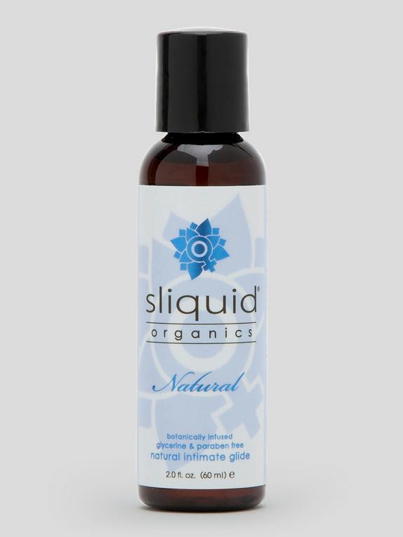 Sliquid Organics Natural H2O Lubricant 60ml, , hi-res