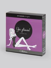 Annabelle Knight Yes Please! Couple's Sex Toy Kit, Purple, hi-res