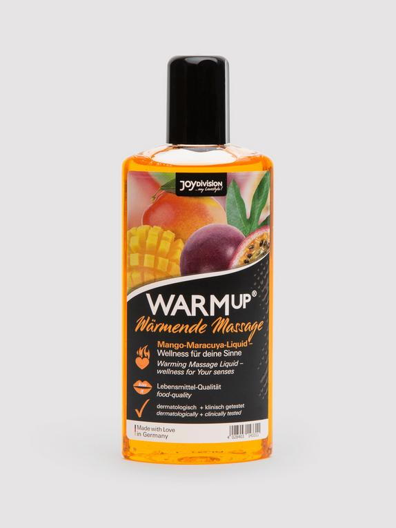 Warming Mango and Passion Fruit Flavoured Massage Lubricant 150ml, , hi-res