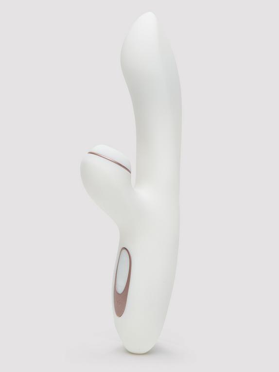 Satisfyer Pro Rechargeable G-Spot Rabbit Vibrator, White, hi-res