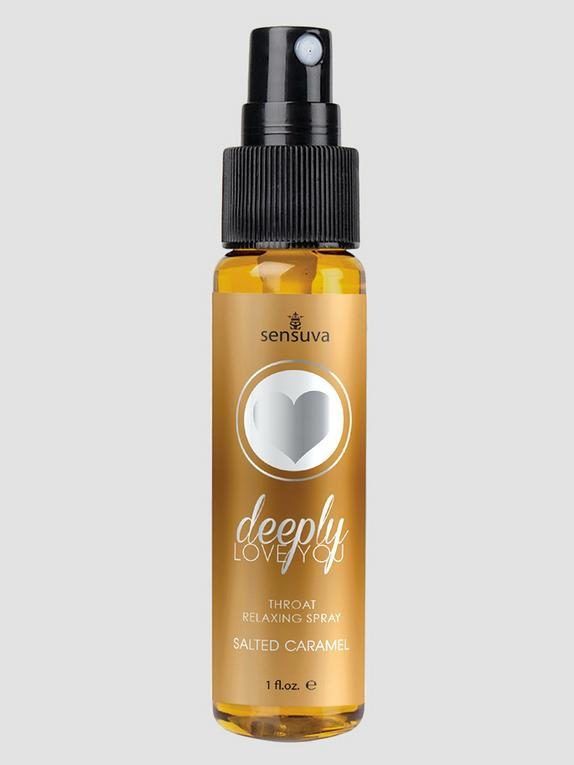 Sensuva Deeply Love You Throat Relaxing Spray Salted Caramel 30ml, , hi-res