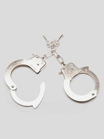 Bondage Boutique Silver Handcuffs