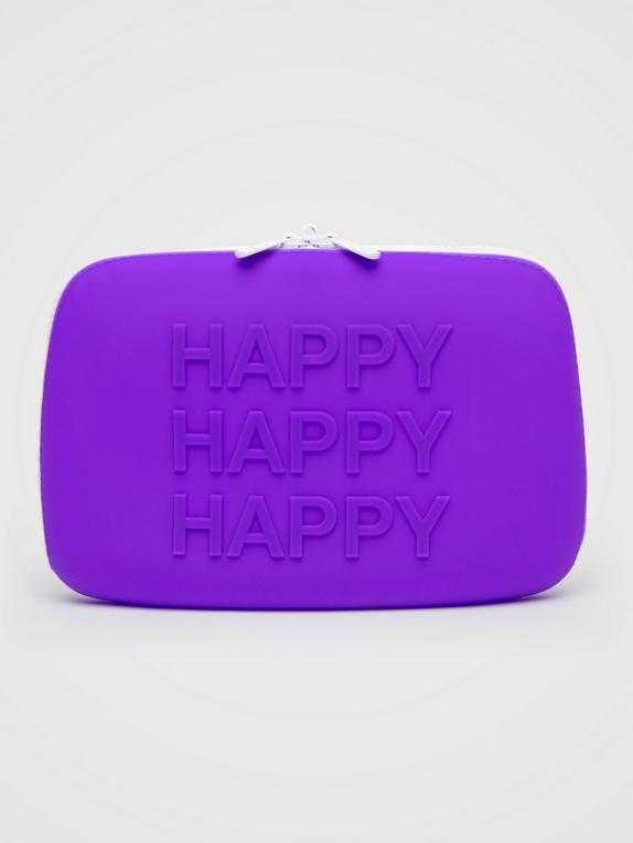 Happy Rabbit HAPPY Large Silicone Zip Storage Case , , hi-res