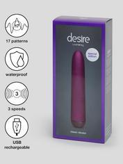Desire Luxury Rechargeable Classic Vibrator, Purple, hi-res