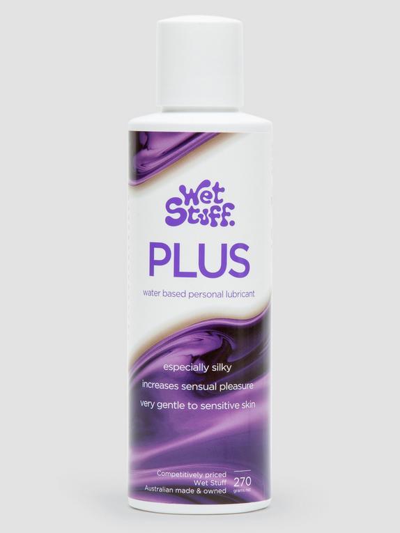 Wet Stuff Plus Silky Water Based Sensitive Lubricant 270ml, , hi-res