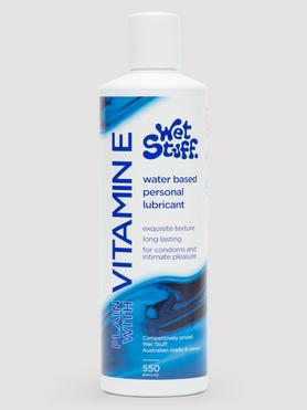 Wet Stuff Water Based Lubricant with Vitamin E 550ml