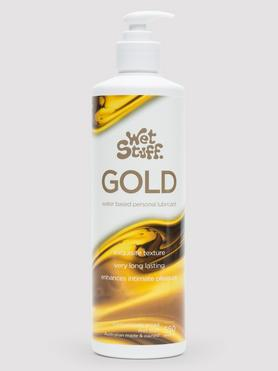 Wet Stuff Gold Water-Based Lubricant 550ml