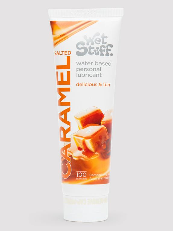 Wet Stuff Salted Caramel Flavoured Lubricant 100ml, , hi-res