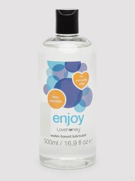Lubrifiant intime à base d'eau Enjoy 500 ml, Lovehoney