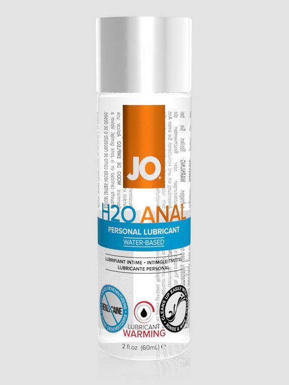 System JO H2O Warming Water-Based Anal Lubricant 2.0 fl oz, , hi-res