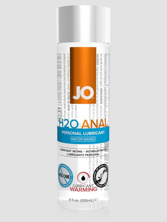 System JO H2O Warming Anal Lubricant 120ml, , hi-res