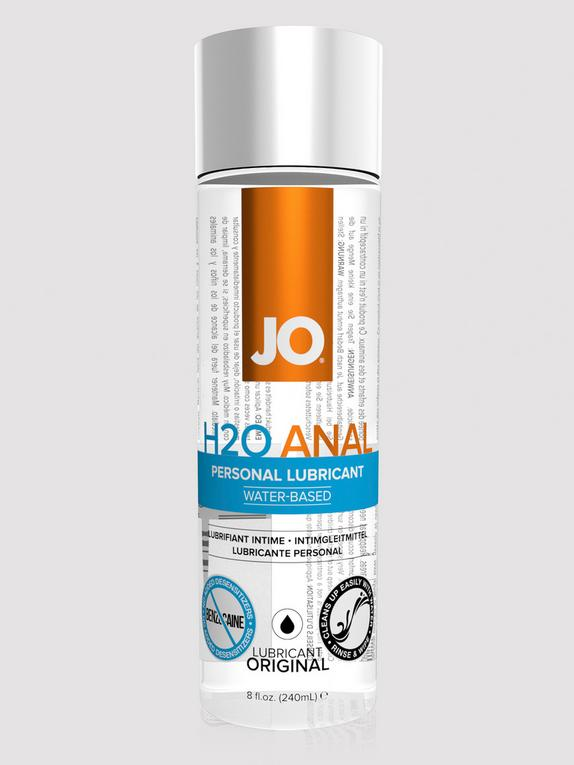 System JO H2O Water-Based Anal Lubricant 240ml, , hi-res