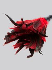 Fetish Fantasy Frisky Red Feather Tickler, Red, hi-res