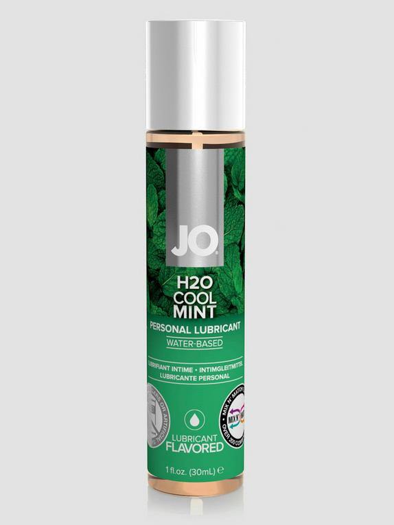 System JO Cool Mint H2O Flavoured Lubricant 30ml, , hi-res
