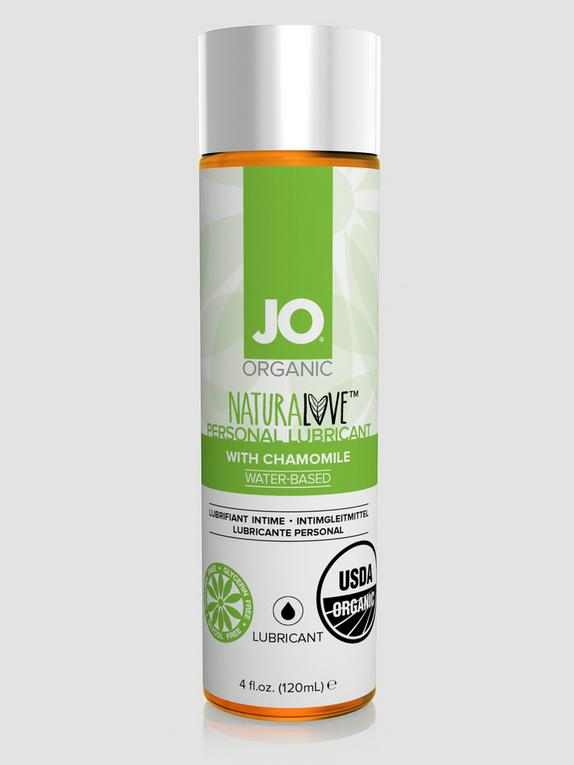 System JO Organic NaturaLove Water-Based Lubricant 120ml, , hi-res