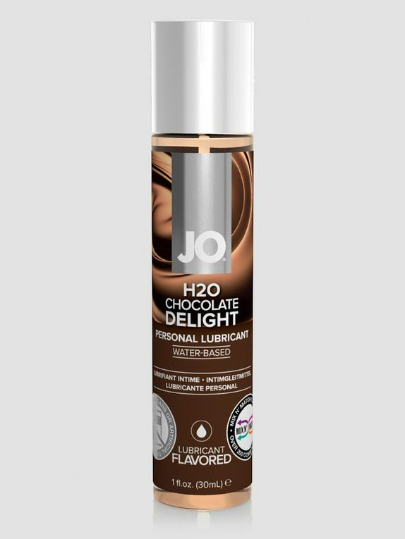 System JO Chocolate Delight Flavored Lubricant 1.0 fl oz, , hi-res