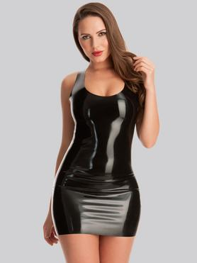 Rubber Girl Latex Mini Dress
