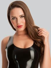 Rubber Girl Latex Mini Dress, Black, hi-res