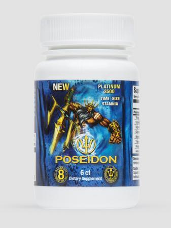 Poseidon Dietary Supplement for Men (6 Capsules)
