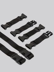 Liberator Talea Spreader Bar Cushion with Cuffs, Black, hi-res