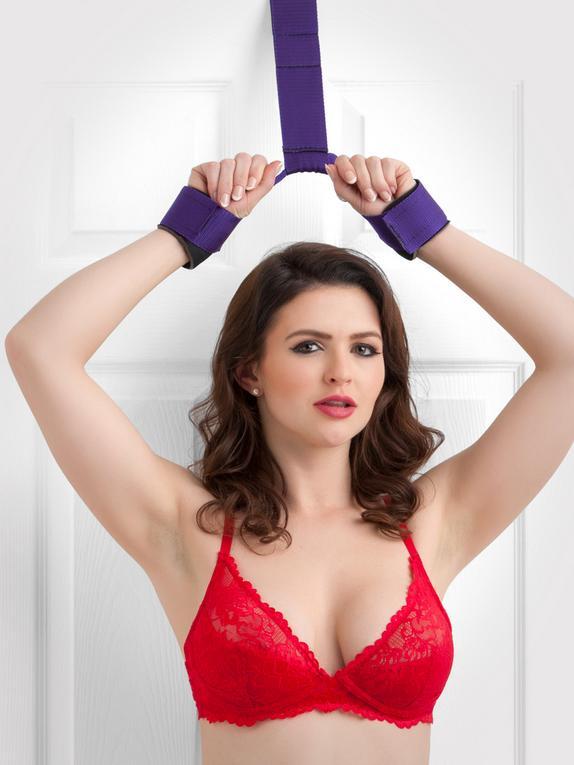 Contrainte de bondage pour porte, Purple Reins, Violet, hi-res