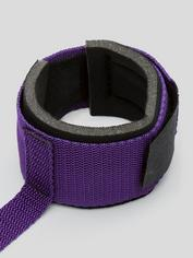 Purple Reins Body Harness with Wrist and Thigh Restraint, Purple, hi-res