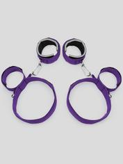 Purple Reins Thigh, Wrist and Ankle Restraint, Purple, hi-res