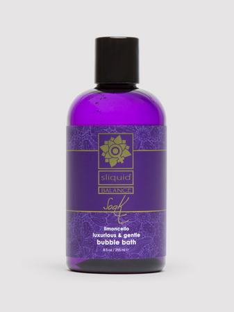 Sliquid Balance Soak Limoncello Bubble Bath 8.5 fl oz
