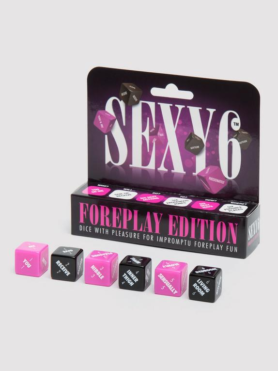 Sexy 6 Foreplay Dice Game, , hi-res