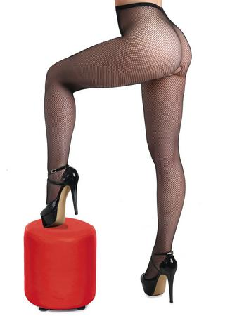 Miss Naughty Crotchless Fishnet Pantyhose