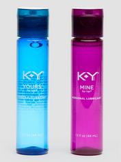 KY Jelly Yours & Mine Couple's Lubricants (2 x 1.5 fl. oz), , hi-res