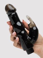 BASICS Beginner's Rabbit Vibrator, Black, hi-res