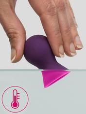 Lovehoney Colorplay Color-Changing Silicone Nipple Suckers, Purple, hi-res
