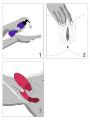 Womanizer Red Duo Rechargeable G-Spot and Clitoral Stimulator, Red, hi-res