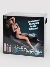 Dark Magic Inflatable Remote Control Thrusting Sex Machine, Black, hi-res