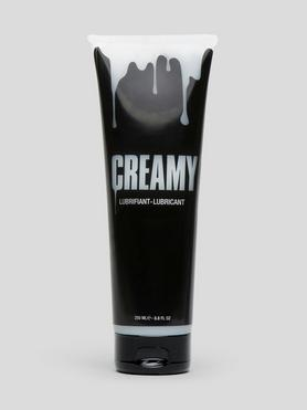 Lubrifiant intime à base d'eau effet sperme inodore 250 ml, CREAMY