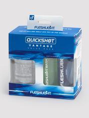 Fleshlight QUICKSHOT Vantage Combo Pack, Clear, hi-res