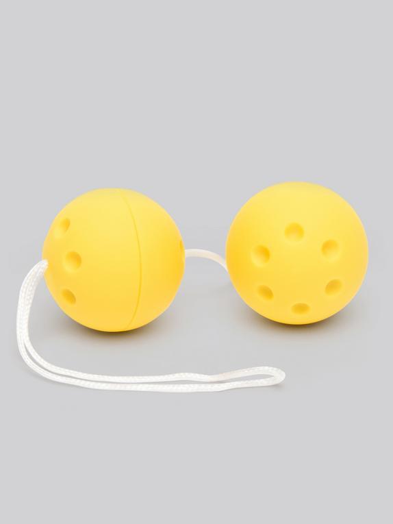 BASICS Jiggle Balls 56g, Yellow, hi-res