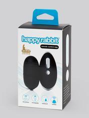 Happy Rabbit Remote Control Love Egg Vibrator, Black, hi-res