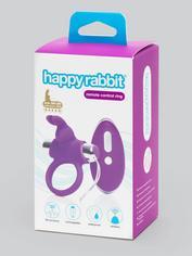 Happy Rabbit Remote Control Cock Ring, Purple, hi-res