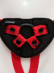 Lovehoney Advanced Unisex Strap-On Harness Kit (3 Piece) , Red, hi-res